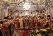 День Собора Саратовских святых торжественно отметили в Саратовской митрополии