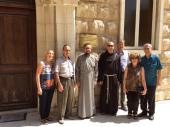 Представительство Русской Православной Церкви в Дамаске посетили настоятель местного храма Римско-Католической Церкви и директор московского культурного центра «Покровские ворота»