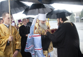 В Саратове встретили десницу святителя Спиридона