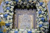На Дон принесена воссозданная Аксайская икона Божией Матери