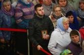 Около 20 тысяч человек поклонились мощам Спиридона Тримифунтского в Тверской епархии