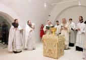 Председатель Синодального отдела по монастырям и монашеству освятил в Воскресенском Ново-Иерусалимском ставропигиальном монастыре два новых престола