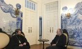 Митрополит Волоколамский Иларион встретился с патриархом Лиссабонским