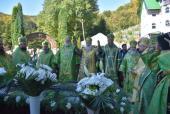 10-летие прославления преподобного Иова Угольского отпраздновали на Закарпатье