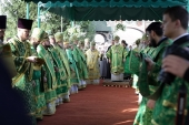 Патриарший экзарх всея Беларуси возглавил торжества по случаю 370-летия кончины преподобномученика Афанасия Брестского