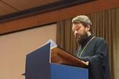 Выступление митрополита Волоколамского Илариона в Лиссабоне на тему «Русская Православная Церковь и помощь христианам Ближнего Востока»