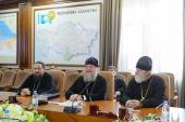 Глава Казахстанского митрополичьего округа встретился с руководством Чимкента и Западно-Казахстанской области