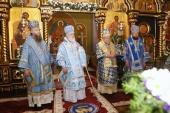 В праздник Рождества Пресвятой Богородицы митрополит Минский Павел возглавил Литургию в гродненском Рождество-Богородичном монастыре