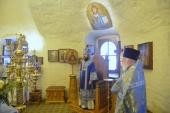Митрополит Волоколамский Иларион совершил Божественную литургию на Китайском Патриаршем подворье в Москве