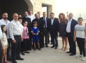 Представители Русской Православной Церкви посетили восстанавливаемый Иоанно-Предтеченский храм в горной части Ливана