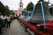 В Даниловом ставропигиальном монастыре пройдут мероприятия, посвященные 10-летию возвращения ансамбля исторических колоколов в обитель