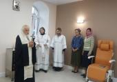 Председатель Синодального отдела по благотворительности освятил дневной онкологический стационар в больнице святителя Алексия в Москве