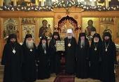 Состоялось выездное заседание Архиерейского Синода Русской Зарубежной Церкви, приуроченное к великому освящению нового кафедрального собора в Великобритании