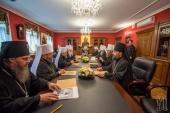 Митрополит Киевский Онуфрий возглавил очередное заседание Синода Украинской Православной Церкви