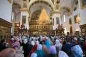 В Успенской Святогорской лавре прошли торжества по случаю празднования Собора преподобных отцов Святогорских