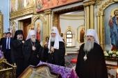 Предстоятель Русской Церкви посетил храм Архистратига Божия Михаила в Ейске