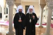 Митрополит Волоколамский Иларион встретился с Предстоятелем и членами Священного Синода Сербской Православной Церкви