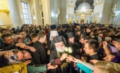 Блаженнейший Патриарх Александрийский Феодор посещает Одессу