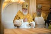 Патриарший экзарх освятил храм Преображения Господня в городском поселке Копысь Витебской области