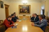 Секретарь ОВЦС по межрелигиозным отношениям встретился с известным академическим деятелем из Ливии