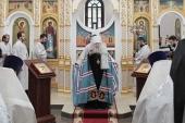Патриарший наместник Московской епархии освятил Никольский храм в подмосковной деревне Жабки