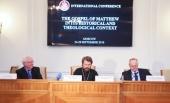 Состоялась Первая международная конференция исследователей Нового Завета на тему «Евангелие от Матфея: исторический и теологический контекст»