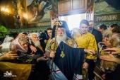 Блаженнейший Патриарх Александрийский и всей Африки Феодор: Церковь не поклоняется политикам