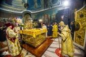 Предстоятели Александрийской и Украинской Православных Церквей совершили чин великого освящения воссозданного Спасо-Преображенского собора г. Болграда
