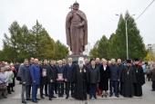 В Новосибирске открыт памятник святому равноапостольному князю Владимиру
