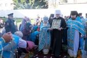 Чудотворная икона Божией Матери «Знамение» Курская-Коренная принесена в город Рыльск Курской области