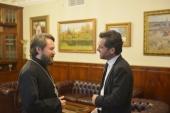 Митрополит Волоколамский Иларион встретился с генеральным консулом Италии в Москве