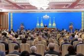 Митрополит Астанайский Александр присутствовал на оглашении ежегодного послания Президента Казахстана народу страны