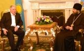 Председатель ОВЦС встретился с послом России в Казахстане