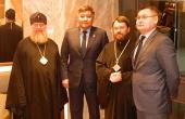 Митрополит Волоколамский Иларион встретился с министром общественного развития Республики Казахстан