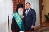 Архиепископ Уральский Антоний удостоен звания «Почетный гражданин города Атырау»
