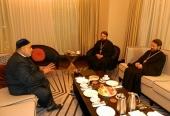 Председатель ОВЦС встретился с председателем Управления мусульман Кавказа