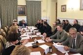 Состоялось заседание Комиссии по взаимодействию Русской Православной Церкви с музейным сообществом