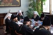 Состоялось первое заседание Оргкомитета Русской Православной Церкви по подготовке к празднованию 800-летия со дня рождения святого благоверного князя Александра Невского