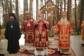 В монастыре Новомучеников и исповедников Церкви Русской в Алапаевске молитвенно почтили день памятипреподобномученицы великой княгини Елисаветы
