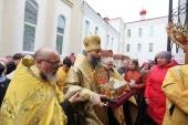 Мощи святителя Луки Крымского принесены в Челябинск