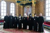 Блаженнейший Патриарх Иерусалимский Феофил посетил Успенский собор Астаны