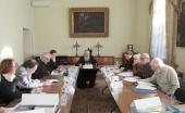 В Издательском Совете прошло заседание конкурсной комиссии конкурса изданий «Просвещение через книгу»