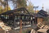 В Москве неизвестный совершил поджог храма и воскресной школы