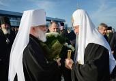 Святейший Патриарх Кирилл прибыл в Минск