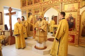 В праздник Покрова Богородицы глава Ивановской митрополии совершил Литургию в храме при областной детской клинической больнице