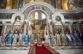 В Патриаршем войсковом всеказачьем соборе в Новочеркасске торжественно отметили праздник Покрова Пресвятой Богородицы