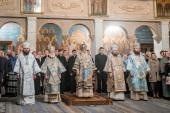 В Московской духовной академии прошли торжества по случаю престольного праздника Покровского академического храма и актового дня