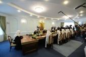 ЖУРНАЛЫ заседания Священного Синода от 15 октября 2018 года
