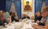 Епископ Орехово-Зуевский Пантелеимон встретился с участниками стажировки для руководителей епархиальных социальных отделов