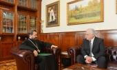 Председатель ОВЦС встретился с новоназначенным послом Болгарии в России